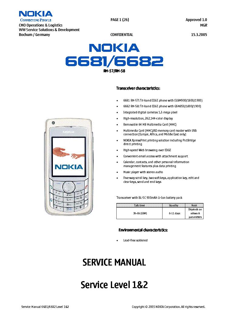 Скачать прошивку Nokia 6700